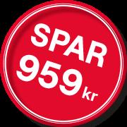 Spar 959kr